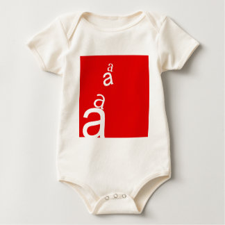 Beschriften Sie A Baby Strampler