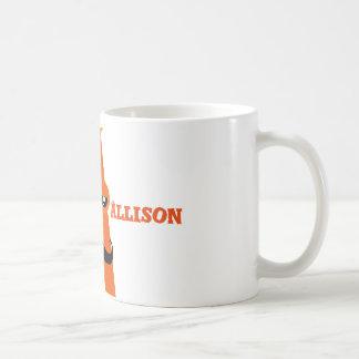 Beschriften Sie a-Tasse Kaffeetasse