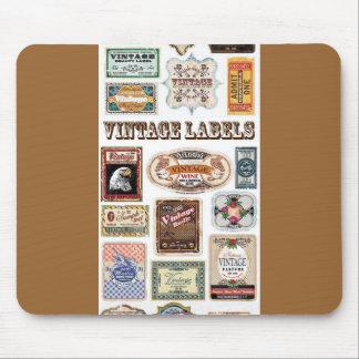 Beschriftet freier Vintager Vektor 23 Vektor 23 fr Mousepads