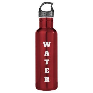 Beschriftete Wasser-Flasche Trinkflasche