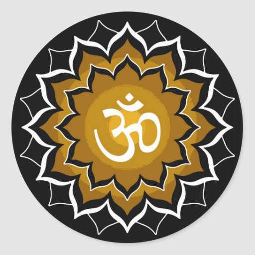Beschwörungsformel Chakra Sticker