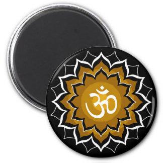 Beschwörungsformel Chakra Runder Magnet 5,7 Cm