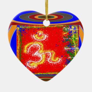 BESCHWÖRUNGSFORMEL Shakti: Keramik Ornament