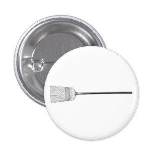 Besen-Knopf Runder Button 2,5 Cm