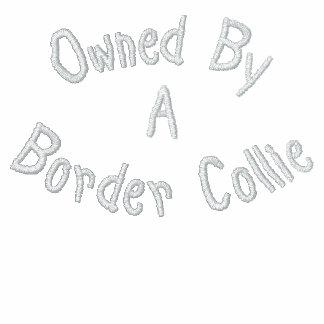 Besessen durch Border-Collie gesticktes T-Shirt