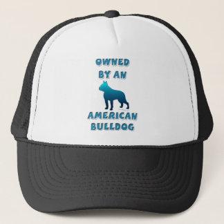 Besessen durch eine amerikanische Bulldogge Truckerkappe