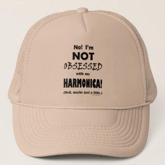 Besessen gewesene Harmonika Truckerkappe