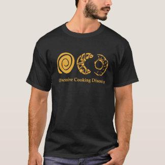 Besessene kochende Störung lustige grafische T-Shirt
