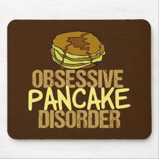 Besessene Pfannkuchen-Störungs-lustiges Frühstück Mousepad