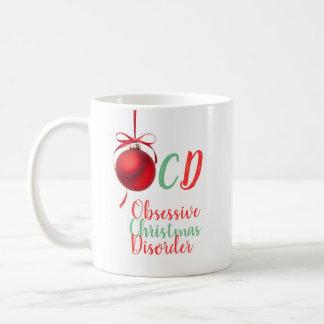 Besessene Weihnachtsstörung Kaffeetasse