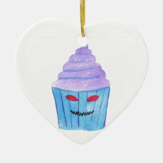 Besessener kleiner Kuchen Keramik Herz-Ornament