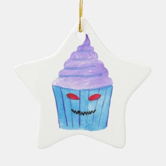 Besessener kleiner Kuchen Keramik Stern-Ornament