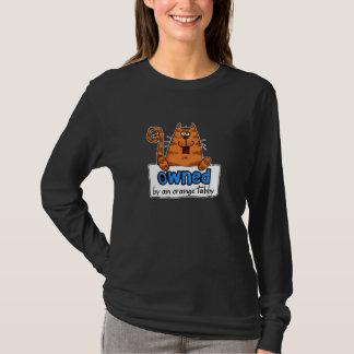 besessener orange Tabby T-Shirt