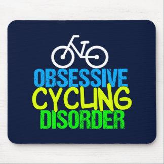 Besessener radfahrenstörungs-Radfahrer Mousepad