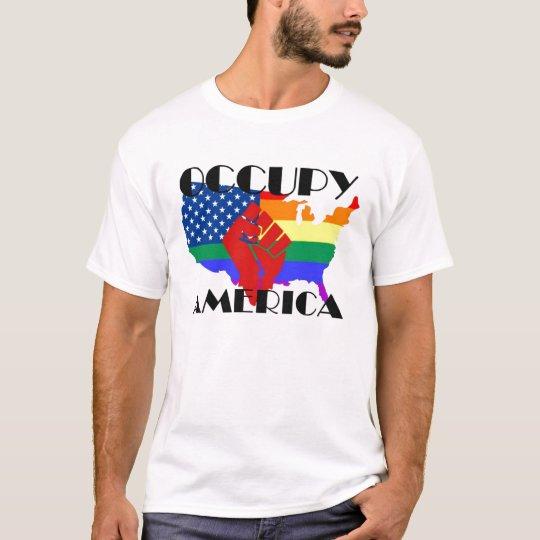 besetzen Sie Amerika 2 T-Shirt