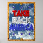 Besetzen Sie Amerika-Protestzeichen Plakate