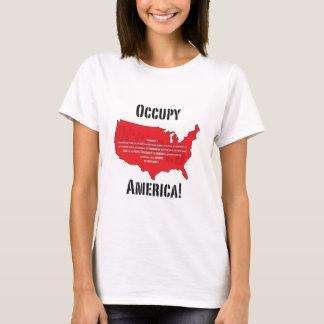 Besetzen Sie Amerika! T-Shirt