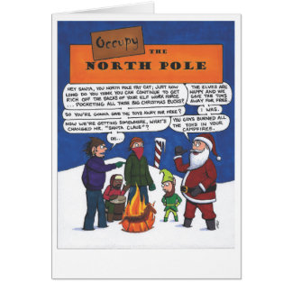 Besetzen Sie den Nordpol! Karte