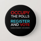 Besetzen Sie die Abstimmungen Register und Runder Button 7,6 Cm