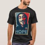 Besetzen Sie HOFFNUNG Shirt