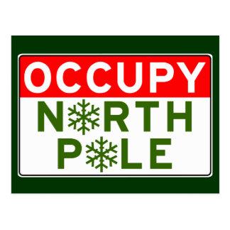 Besetzen Sie Nordpol Postkarte