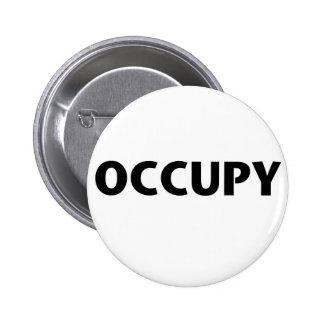 Besetzen Sie (Schwarzes auf Weiß) Buttons
