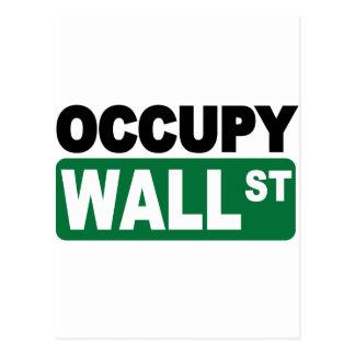 Besetzen Sie Wall Street Postkarte