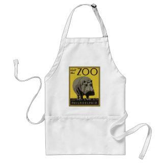 Besichtigen Sie den Philadelphia-Zoo Schürze