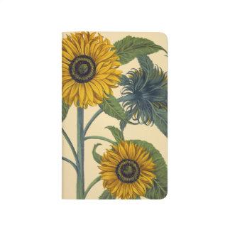 Besler: Sonnenblume Taschennotizbuch