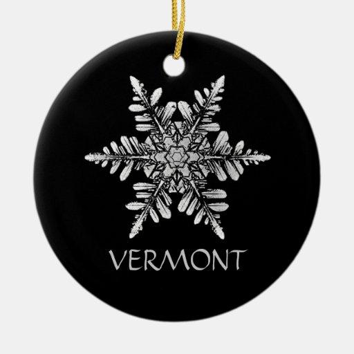 Besonders anzufertigen Schneeflocke-Foto-Verzierun Weinachtsornamente