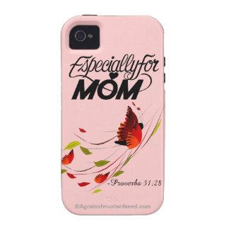 Besonders für den Tag der Mamma-Mutter Vibe iPhone 4 Case