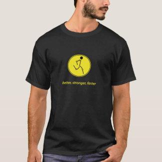 Besser, stärker, schneller (Gelb) T-Shirt