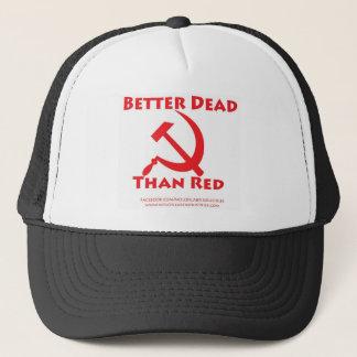 Bessere Tote als Rot Truckerkappe