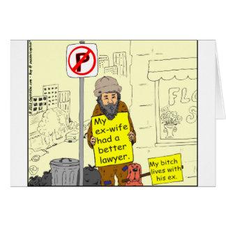 besserer Cartoon Rechtsanwalt der ex Ehefrau 427 Karte