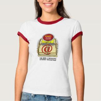Besserer Mousetrap-Damen-Wecker-T - Shirt