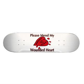 Bessern Sie mein verletztes Herz aus Individuelle Skatedecks