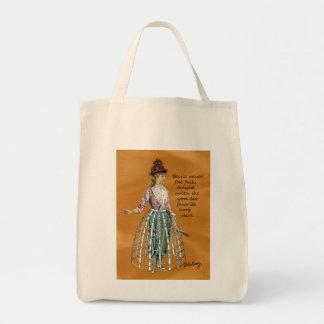 Bessie und ihre Band-Rock-Digital-Collagen-Taschen Einkaufstasche