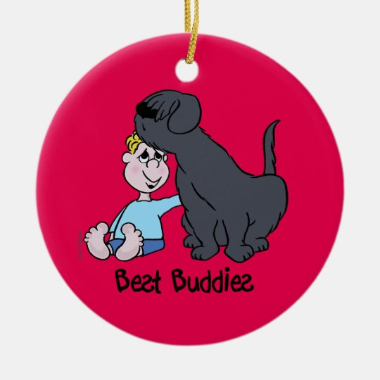 Best Buddies Keramik Ornament