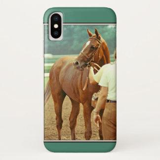 Bestätigtes Thoroughbred-Rennpferd 1978 iPhone X Hülle
