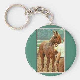 Bestätigtes Thoroughbred-Rennpferd 1978 Schlüsselanhänger