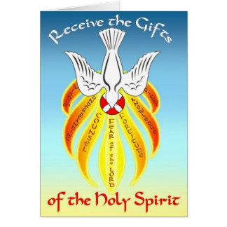 Bestätigungs-Gruß-Karten-Geschenke von Heiliger Grußkarte