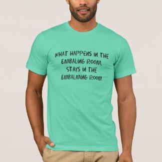 Bestattungsunternehmer-/Leichenbestatter-Geschenke T-Shirt