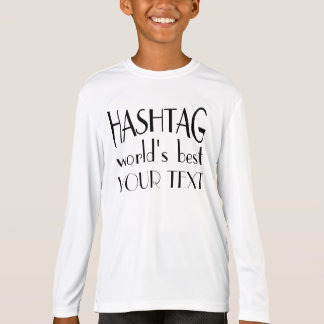 Beste angepasste lange T-S die Hülse T-Shirt