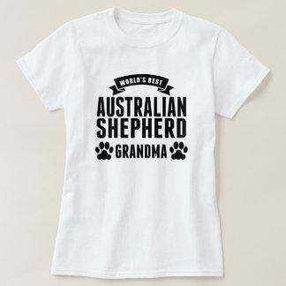 Beste australische der Schäfer-Großmutter der Welt T-Shirt