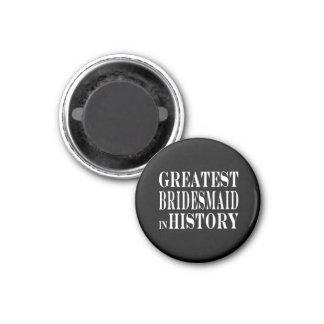 Beste Brautjungfern-bestste Brautjungfer in der Ge Magnete