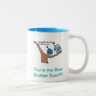 Beste Bruder-Tasse Zweifarbige Tasse