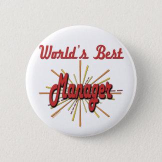 Beste Chef-Geschenke Runder Button 5,1 Cm