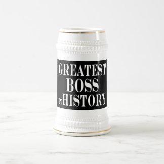 Beste Chefs: Bestster Chef in der Geschichte Bierkrug