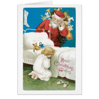 Beste Chrstmas Wünsche Karte