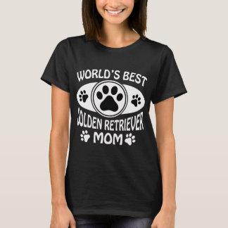 BESTE DAS GOLDEN RETRIEVER-MAMMA DER WELT T-Shirt